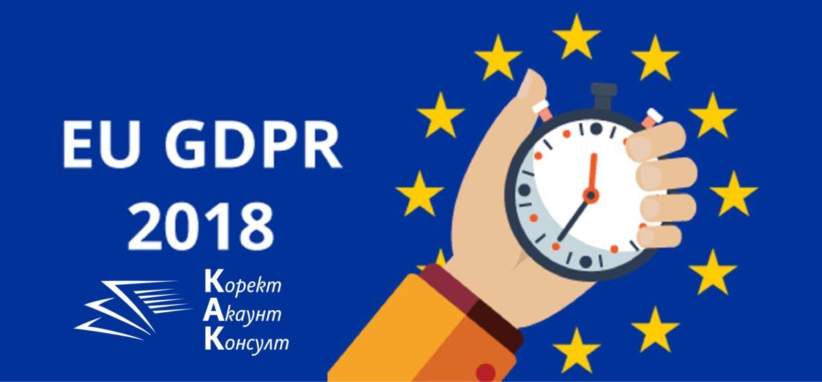 България не е готова за GDPR