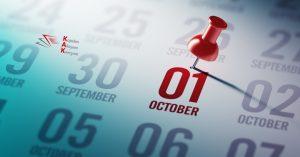 На 1 октомври изтича срокът за подаване на коригиращи декларации