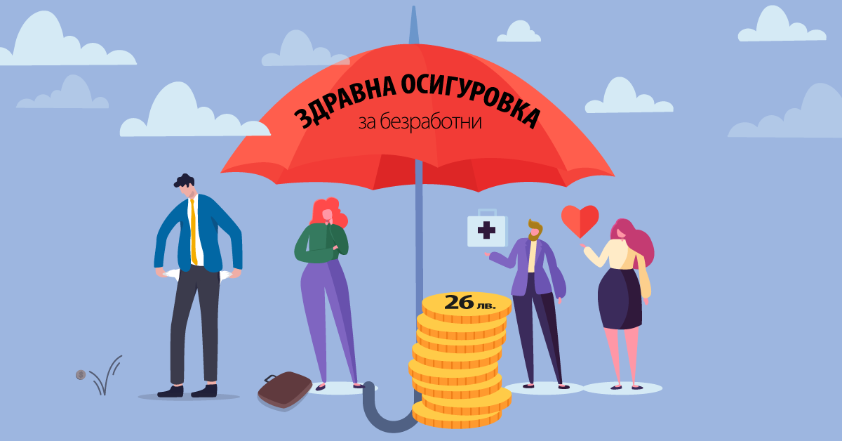 Здравната вноска за безработните става 26 лв. месечно