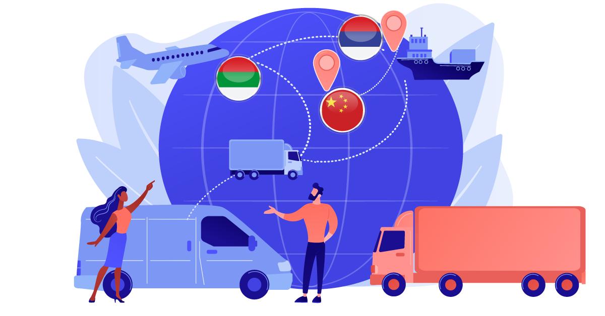 Транспортни услуги между трета страна и трета страна, с получател българско данъчно задължено лице