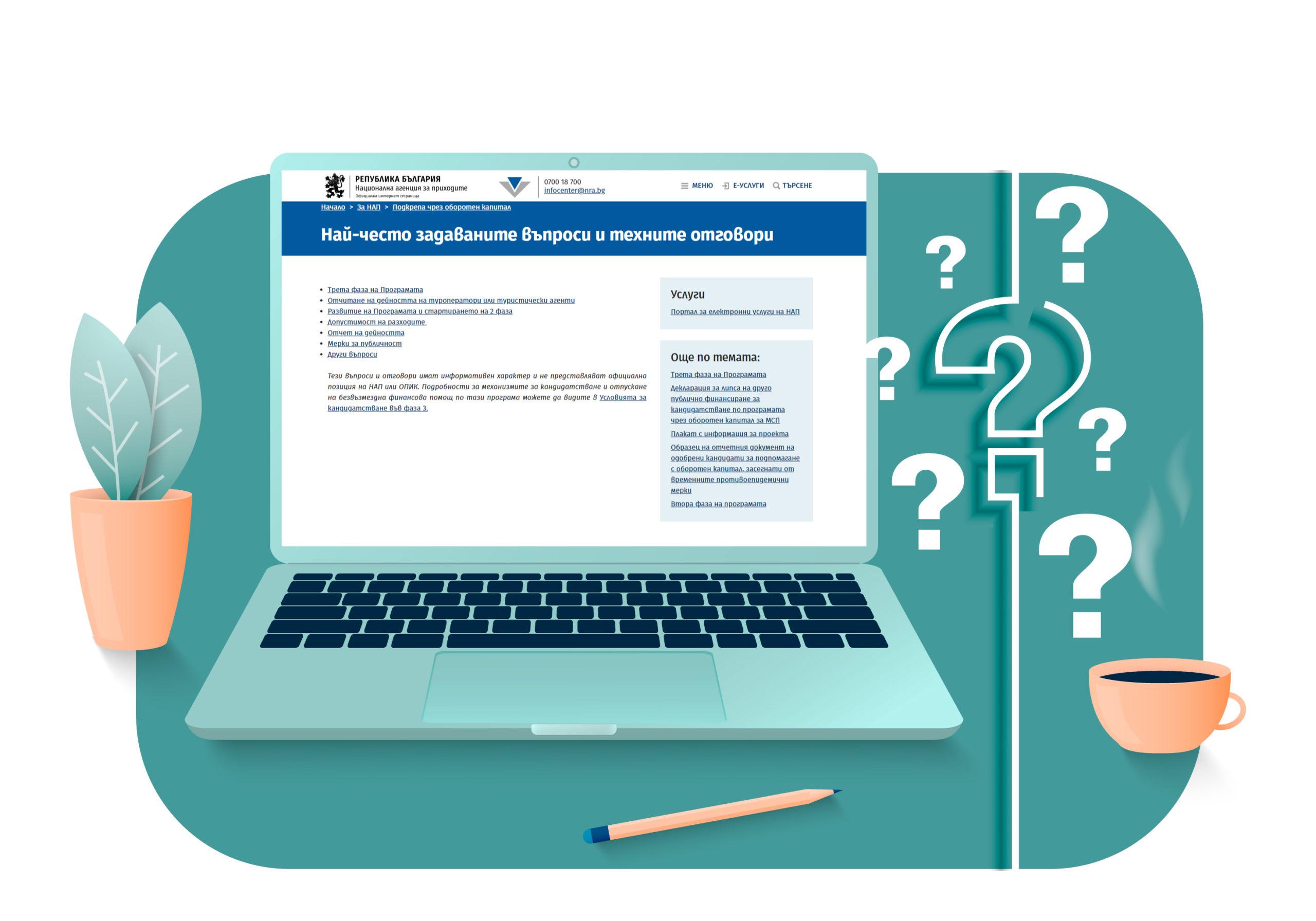 често задавани въпроси, свързани с осигуряването на подкрепа чрез оборотен капитал за МСП